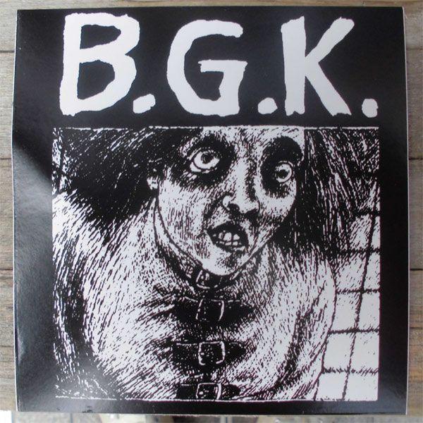 B.G.K. ステッカー 1