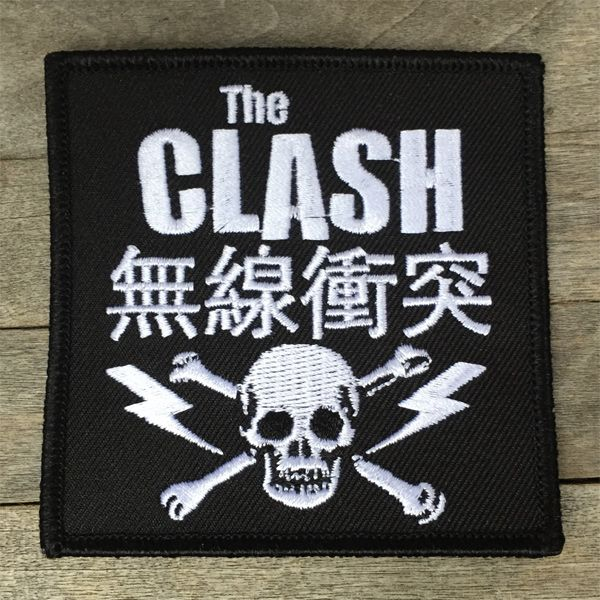 THE CLASH 刺繍ワッペン 無線衝突