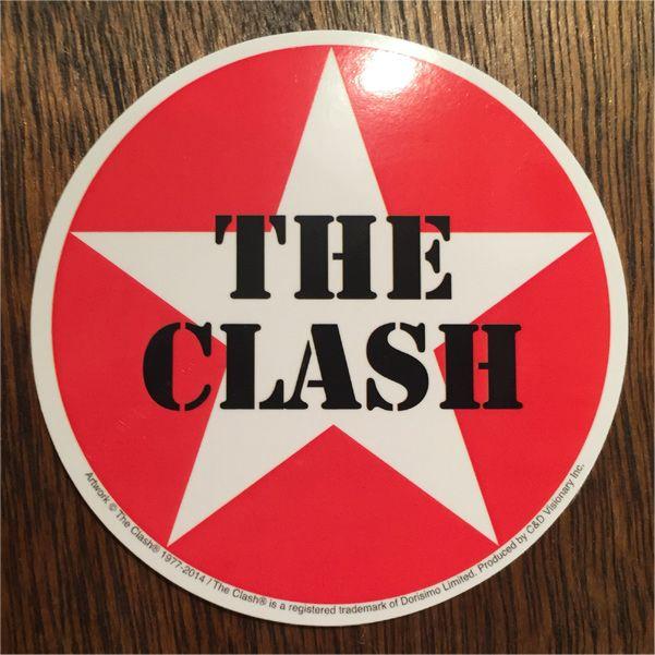 THE CLASH ステッカー CIRCLE