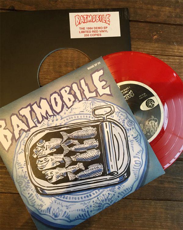 "BATMOBILE 7"" EP THE 1984 DEMO EP RED VINYL"