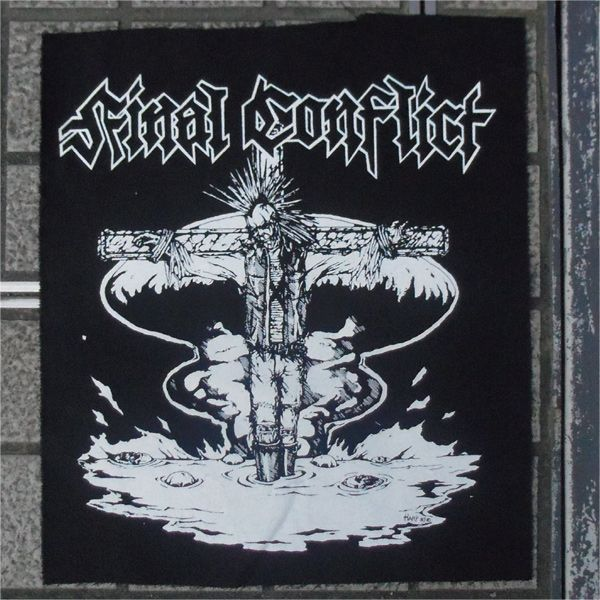 FINAL CONFLICT BACKPATCH 十字架