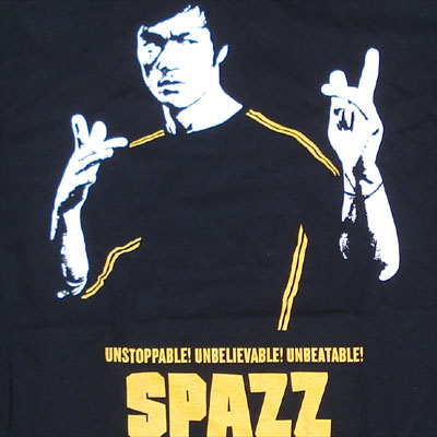 SPAZZ Tシャツ UNSTOPPABLE
