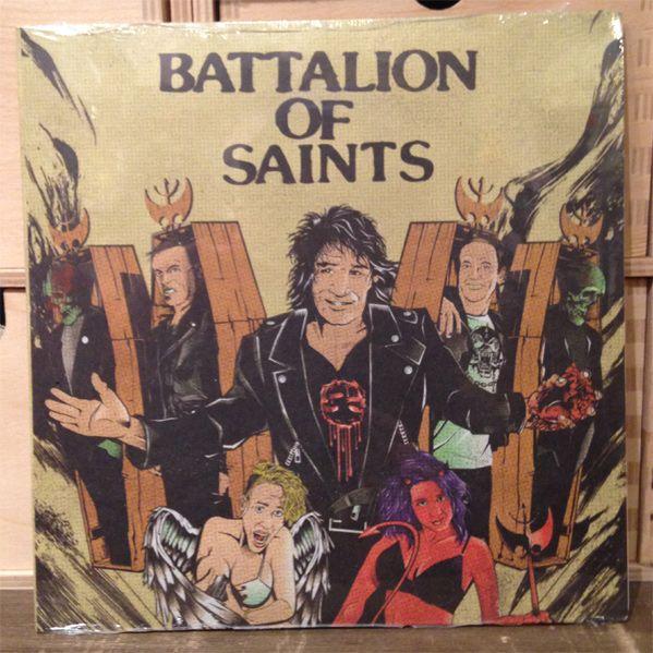"""BATTALION OF SAINTS 7"""" EP"""