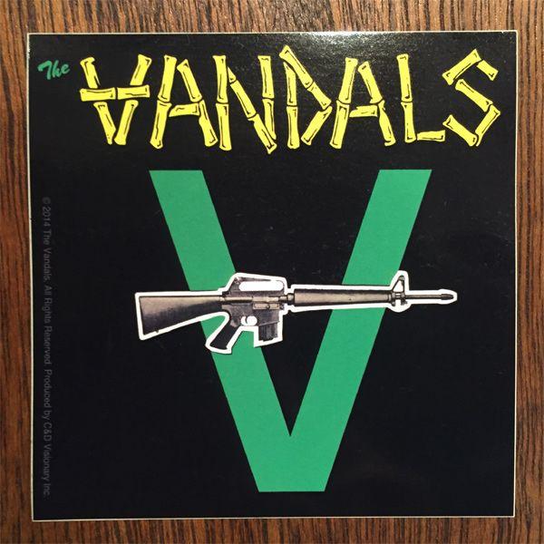VANDALS ステッカー Peace Thru Vandalism