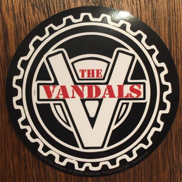 VANDALS ステッカー CIRCLE