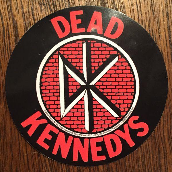 DEAD KENNEDYS ステッカー CIRCLE