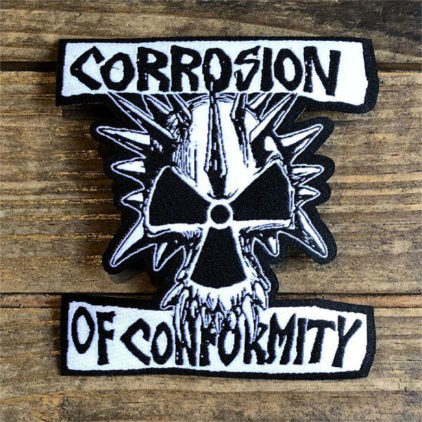 Corrosion of conformity 刺繍ワッペン 原爆ウニ ダイカット