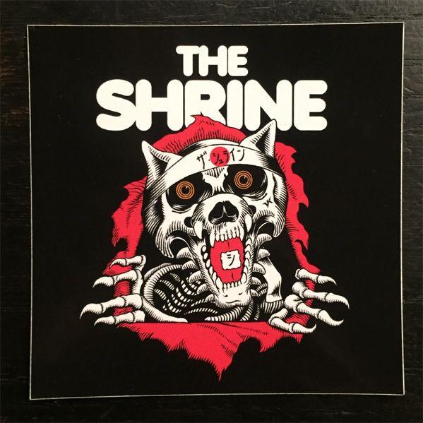 The SHRINE ステッカー RIPPER