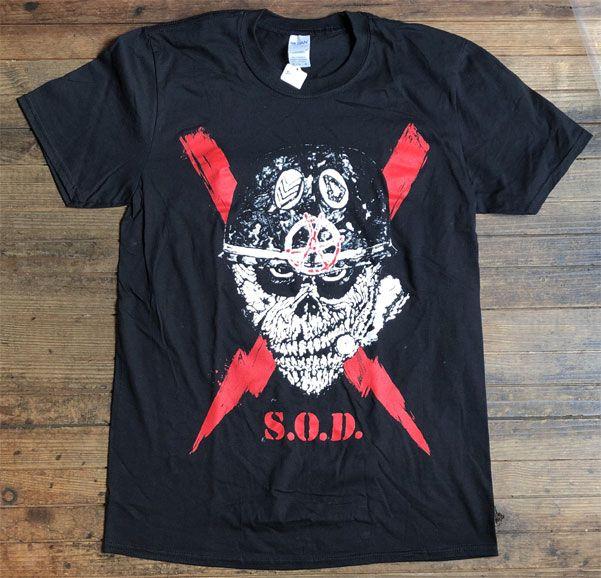 S.O.D Tシャツ SPEAK ENGLISH OR DIE オフィシャル!