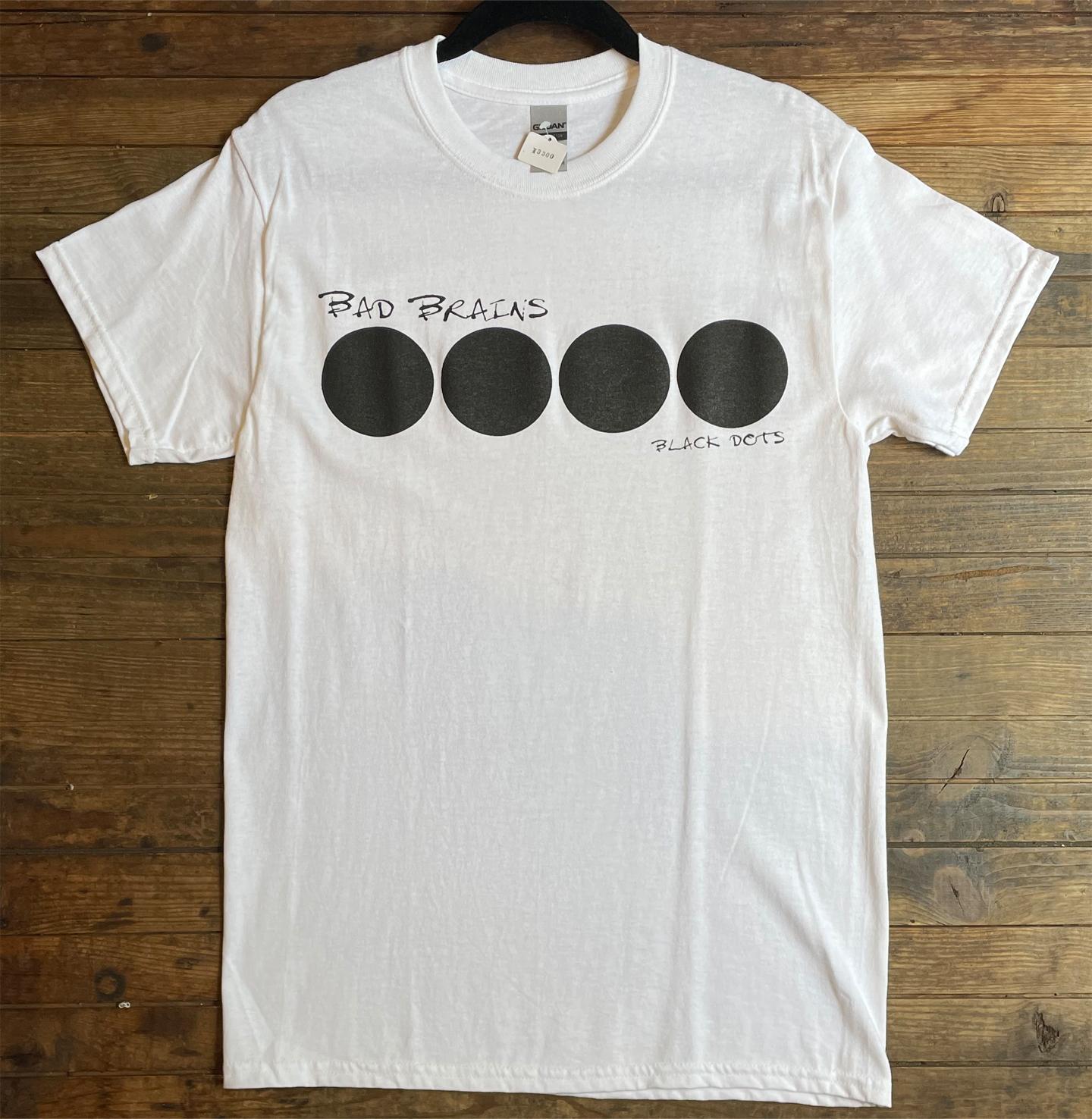 BAD BRAINS Tシャツ BLACK DOTS2