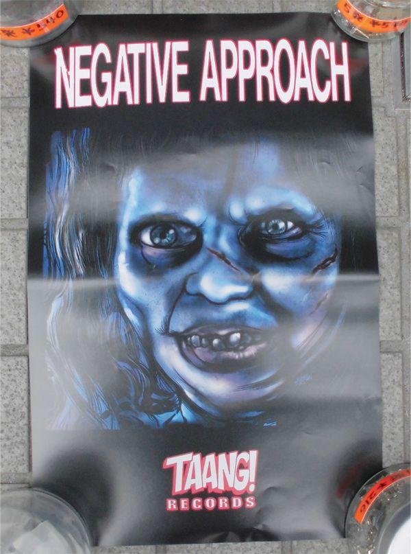 B品 NEGATIVE APPROACH ポスター 2
