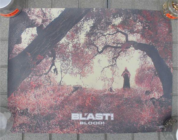 BL'AST! ポスター BLOOD!