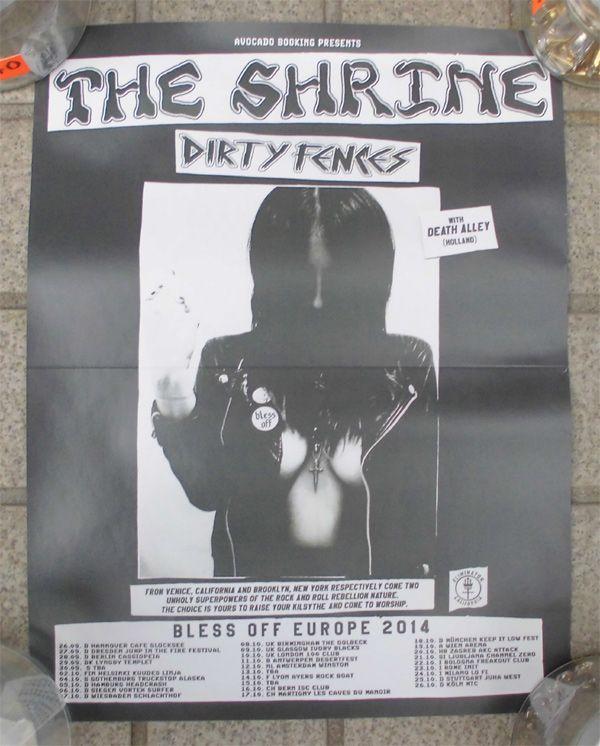 The SHRINE ポスター EURO TOUR