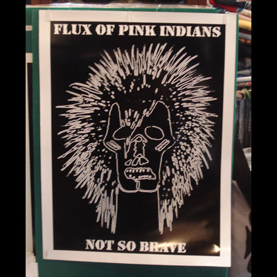 FLUX OF PINK INDIANS ポスター