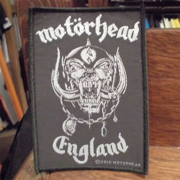 MOTORHEAD 刺繍ワッペン ENGLAND 2
