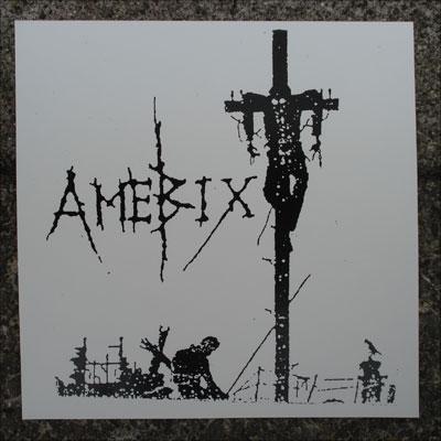 AMEBIX ステッカー 十字架