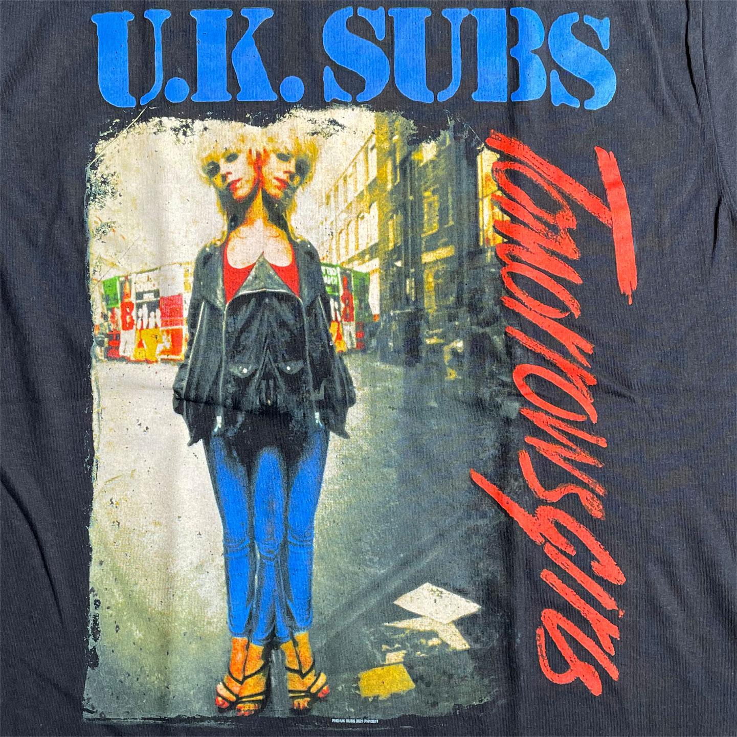 UK SUBS Tシャツ TOMORROWS GIRLS