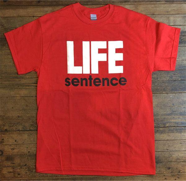 LIFE SENTENCE Tシャツ LOGO