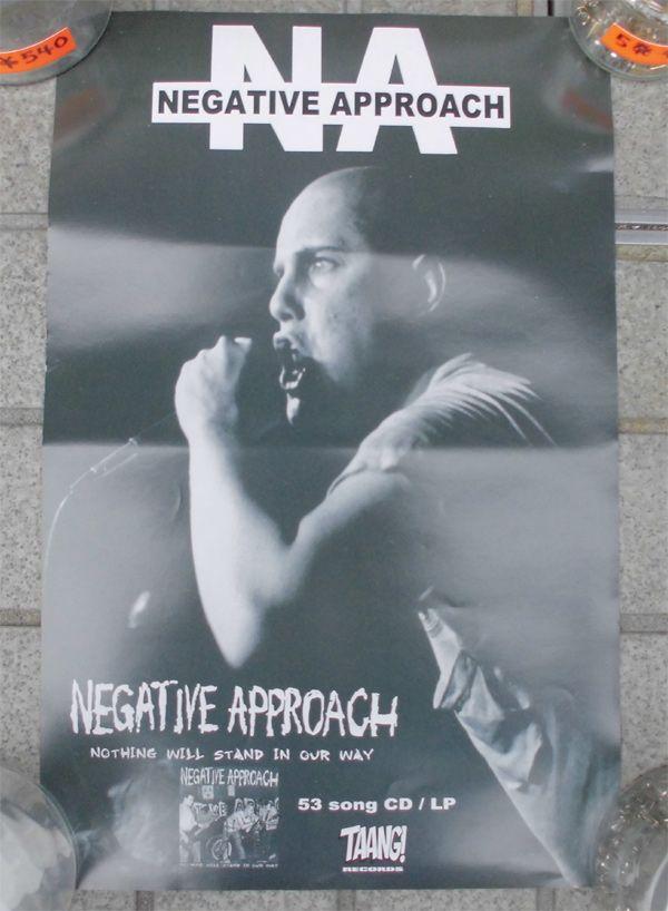 NEGATIVE APPROACH ポスター 3
