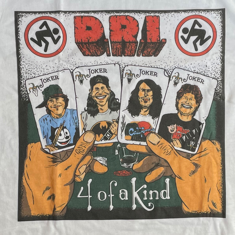 D.R.I. Tシャツ 4 of kind 2 オフィシャル!