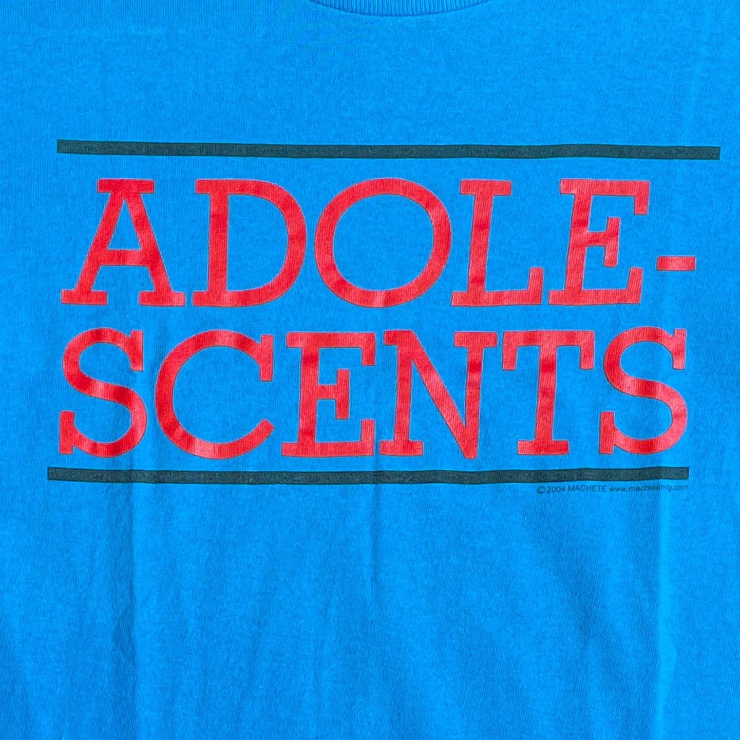 USED! ADOLESCENTS Tシャツ LOGO