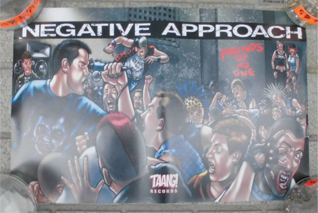 NEGATIVE APPROACH ポスター 4