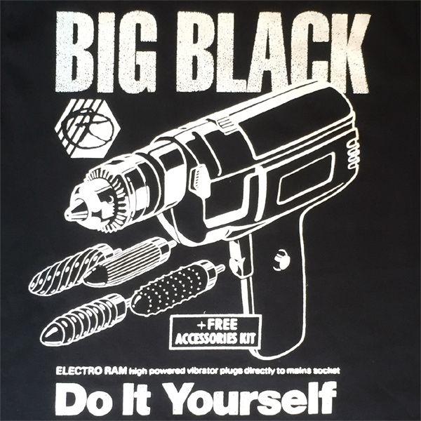 BIG BLACK Tシャツ DO IT YOURSELF
