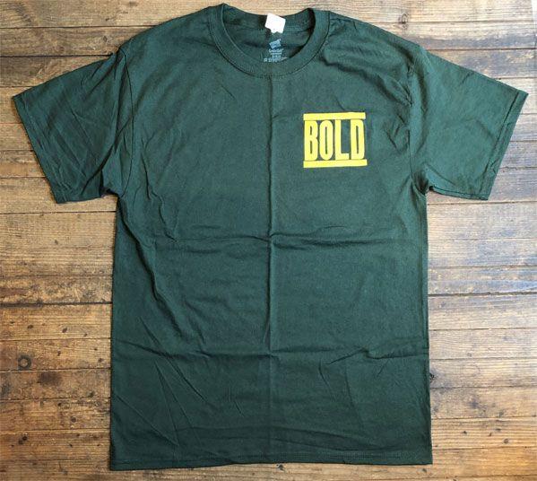 BOLD Tシャツ LIVE PHOTO