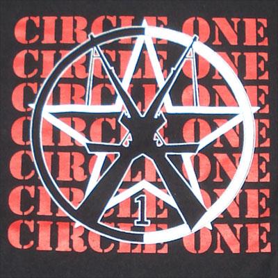 CIRCLE ONE Tシャツ ロゴ
