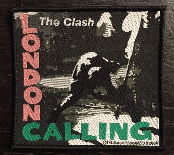 THE CLASH 刺繍ワッペン LONDON CALLING