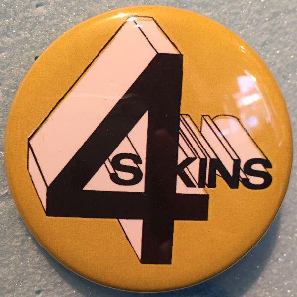 4 SKINS デカバッジ