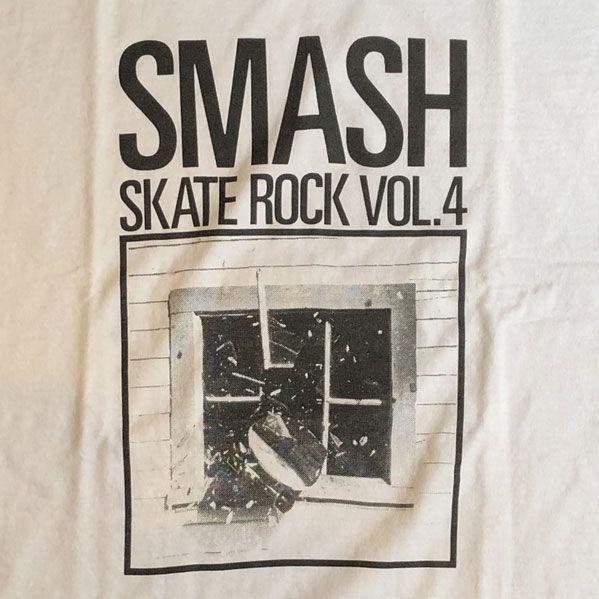 SKATE ROCK Vol.4 Tシャツ SMASH(Cassette)