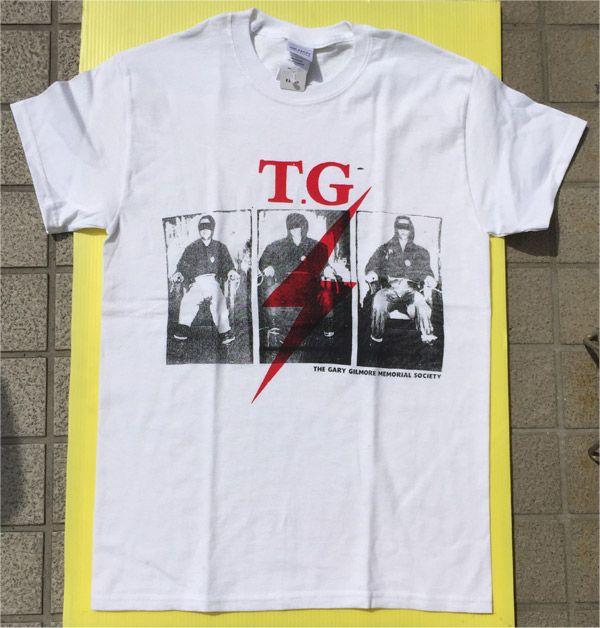 Throbbing Gristle Tシャツ Gary Gilmore