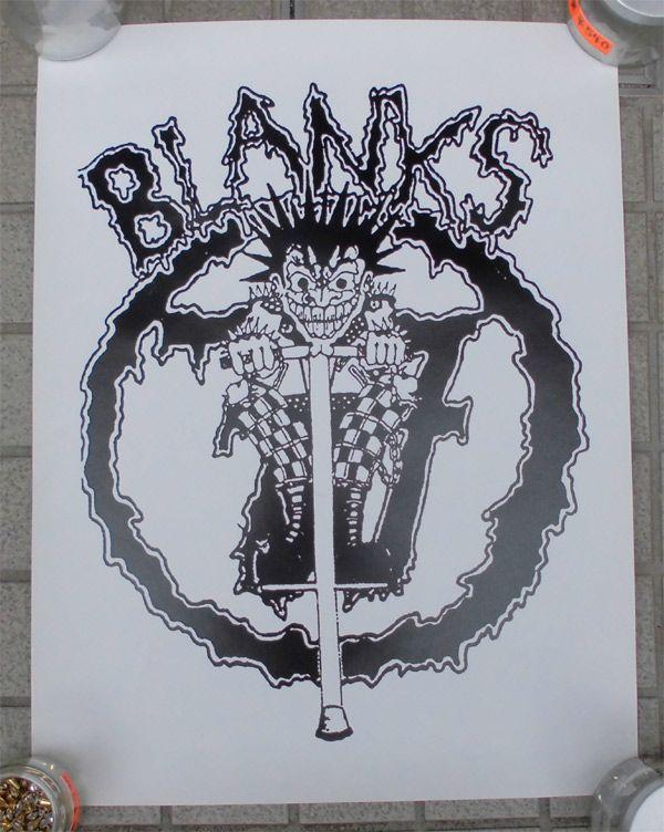 BLANKS 77 ポスター
