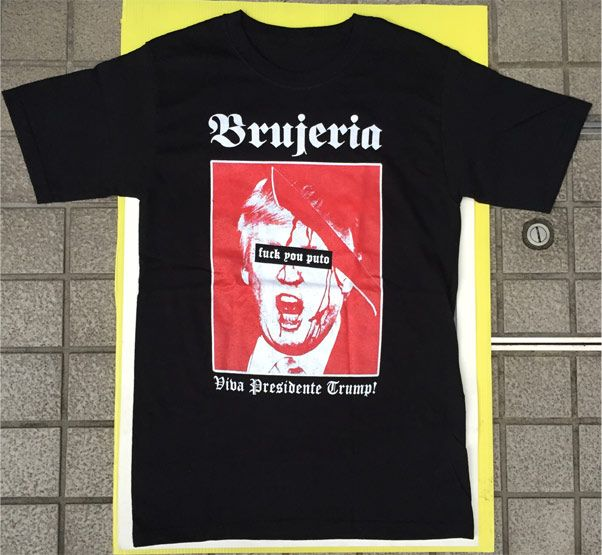 Brujeria Tシャツ Fuck you puto