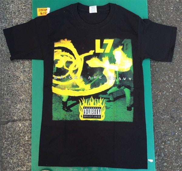 L7 Tシャツ Bricks Are Heavy