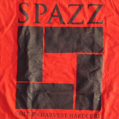 SPAZZ Tシャツ GOLDEN HARVEST2