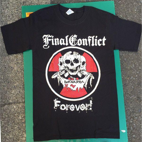 FINAL CONFLICT Tシャツ DIE HARDS