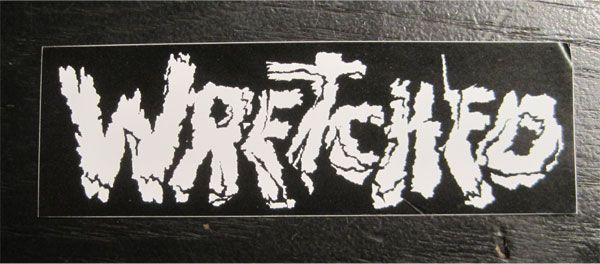 WRETCHED ステッカー ロゴ