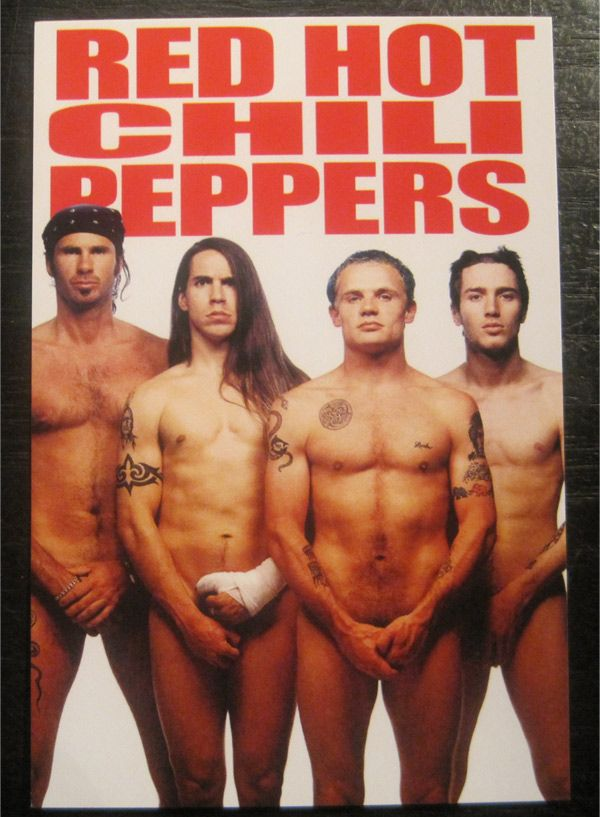 RED HOT CHILI PEPPERS ポストカード