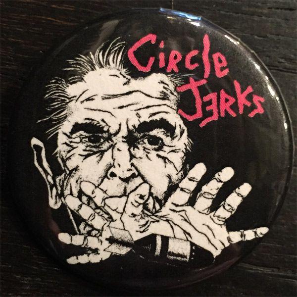 CIRCLE JERKS 中バッジ