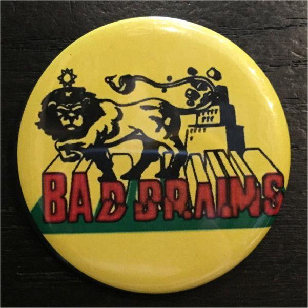 BAD BRAINS デカバッジ LION2