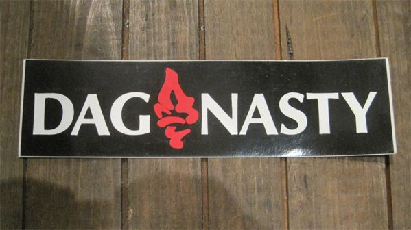 DAG NASTY ステッカー