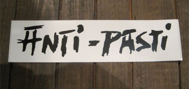 ANTI-PASTI ステッカー ロゴ