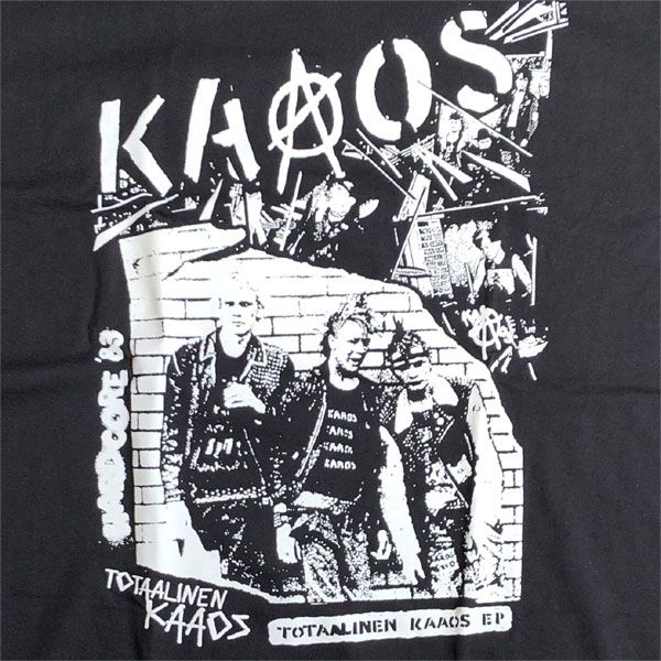 KAAOS Tシャツ Totaalinen Kaaos