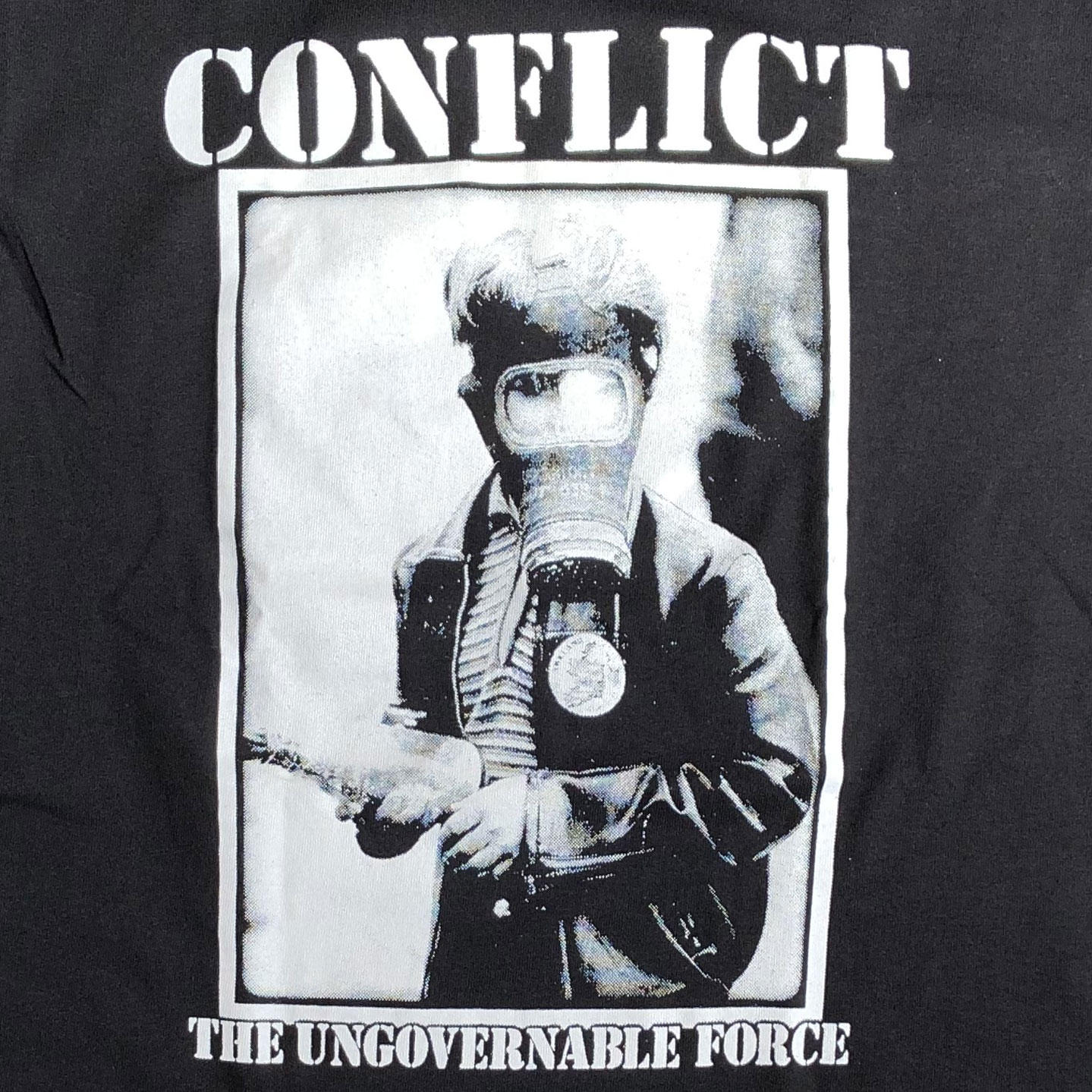 CONFLICT Tシャツ THE UNGOVERNABLE FORCE