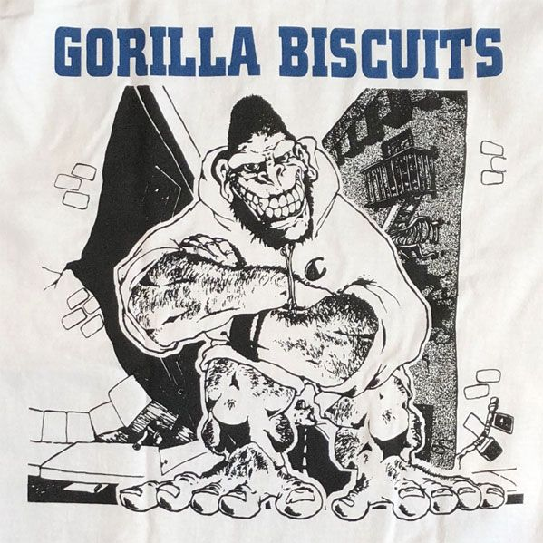 GORILLA BISCUITS Tシャツ EP OFFICIAL