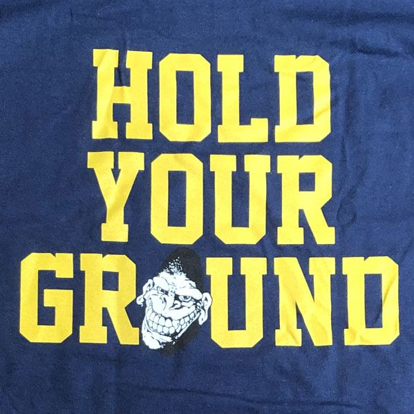 GORILLA BISCUITS Tシャツ HOLD YOUR GROUND TWO SIDE