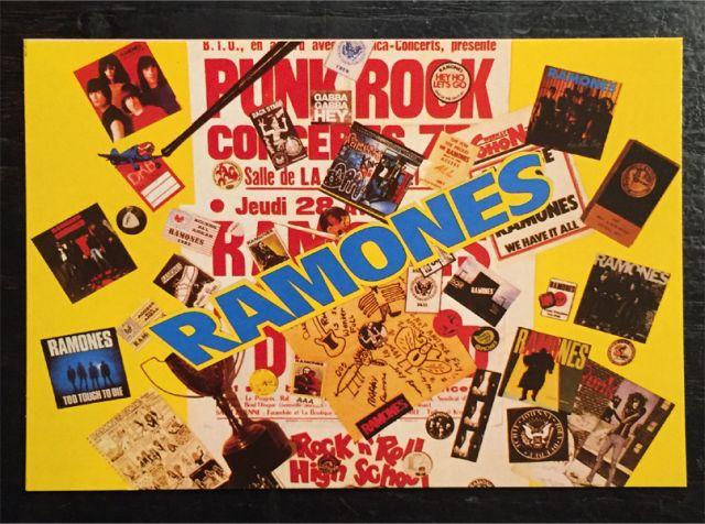 RAMONES ポストカード RAMONES MANIA
