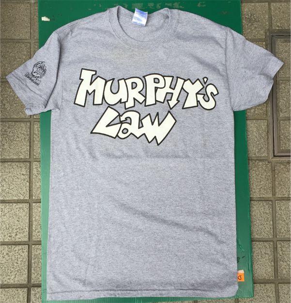 MURPHY'S LAW Tシャツ SINCE 1984 オフィシャル!